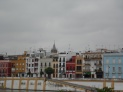 View across the river to Triana. One of my favourite photos!